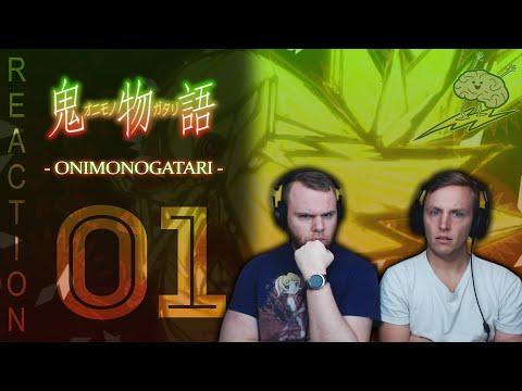 SOS Bros React - Onimonogatari Episode 1 - Shinobu's Void