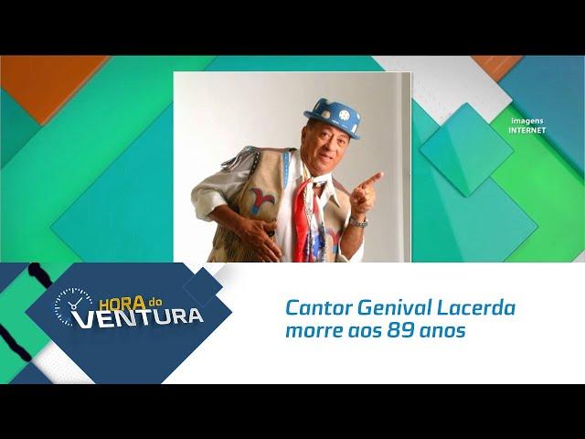 Cantor Genival Lacerda morre aos 89 anos por complicações da Covid-19