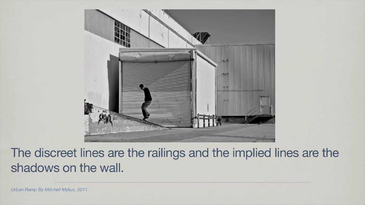 Implied Lines In Art : Elements of art line youtube