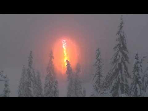 Spenning på skitur