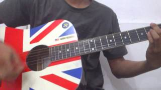 Last kiss from avelin - sesak dalam gelap guitar cover + solo