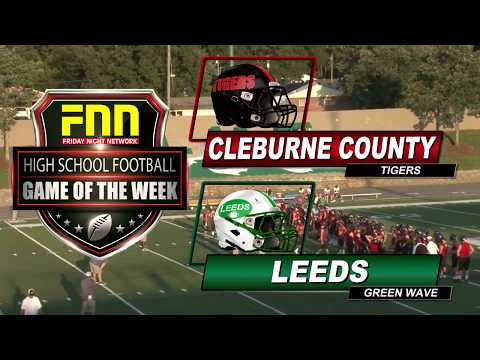 Cleburne County at Leeds-FNN Game of the Week