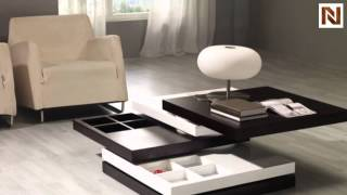 Mixx Wenge / White Coffee Table Vgkcgbj002v From Vig Furniture