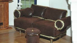 Sofa. How To Make A Miniature Sofa 1:12 Dollhouse By Garden Of Imagination Goi