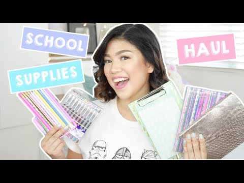Back-To-School Supplies Haul (Philippines) | Janina Vela
