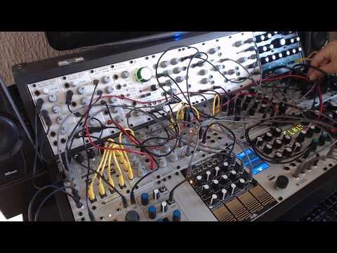 modular synth, E352, Braids, Jupiter storm, DPO, Radikal technologies