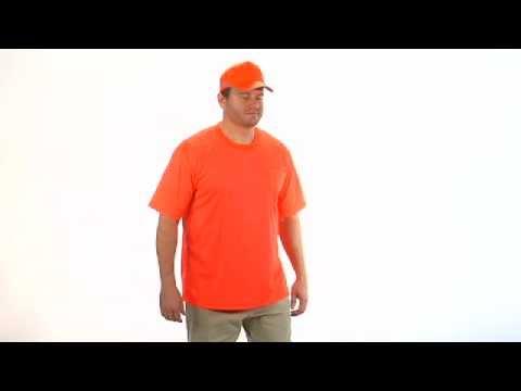 Orange Hi Viz Safety T Shirt