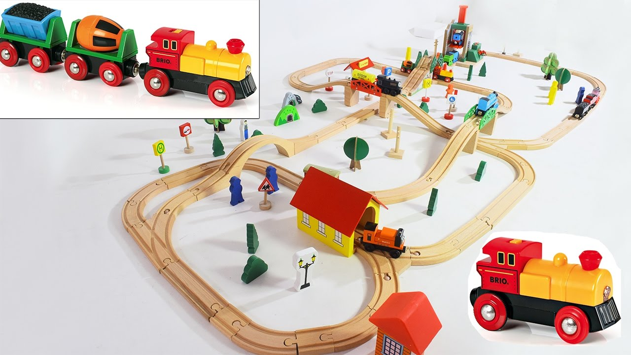 Toy Trains For Children Wooden Train Thomas And