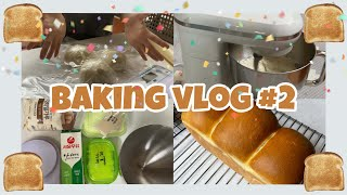 [ Baking vlog ]우유식빵 만드는 브이로그 /…