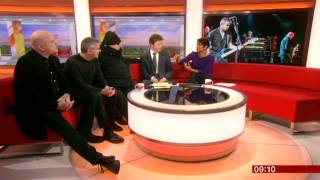 The Stranglers BBC Breakfast 2015
