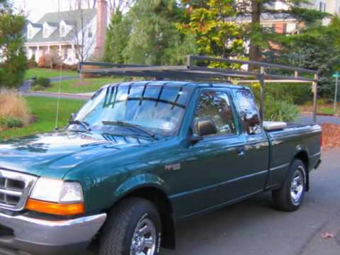 2000 Ford Ranger With Ladder Rack And Tool Box Central Nj