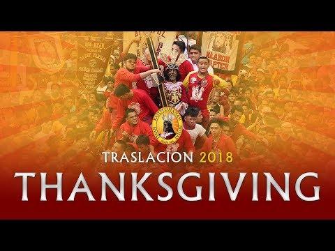 Traslacion | Feast of the Black Nazarene 2018 - Thanksgiving Procession