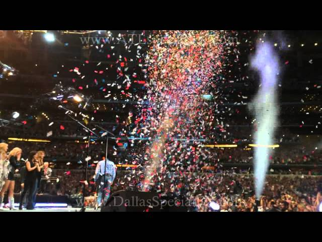 Record Setting Confetti George Strait Final Song #CowboyRidesAway (Awesome Ending) Cloudvertise®