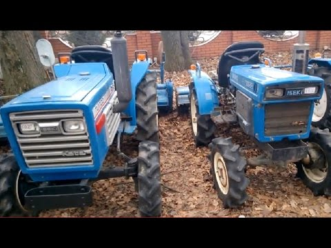 Минитрактор KUBOTA X20D - YouTube
