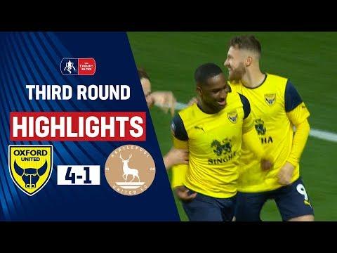 Oxford Utd Hartlepool Goals And Highlights