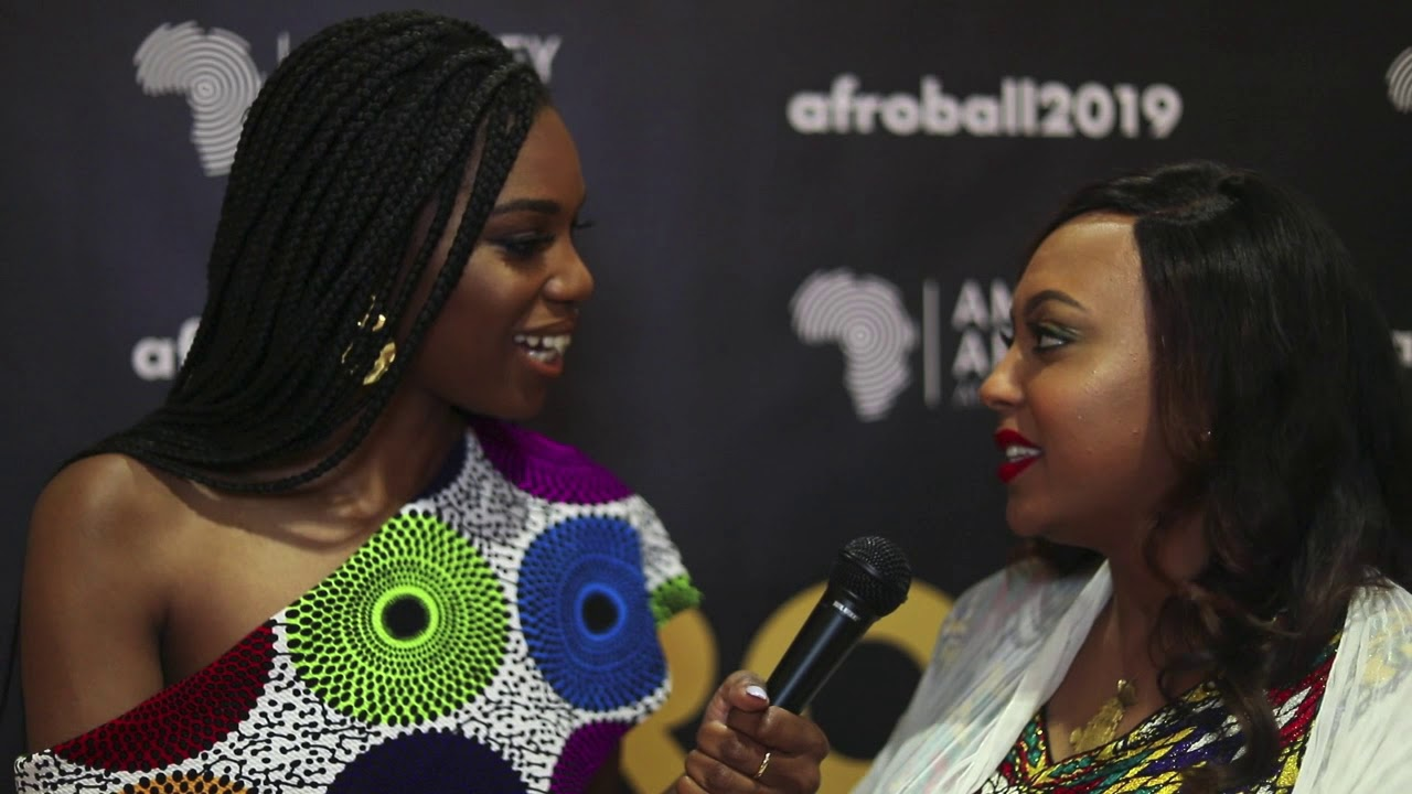 2019 Afro Ball Amplifier of the Year Melate Bekele chats with host Stacy Ike