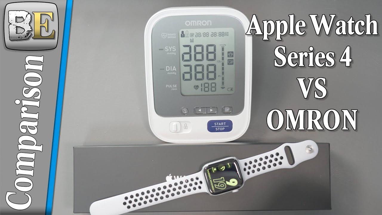 Apple Watch Series 4 Vs Omron Blood Pressure Monitor For