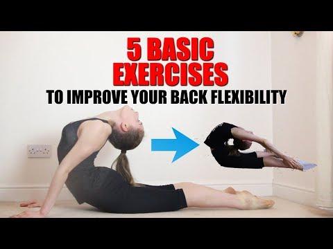 5 BASIC BACK STRETCHES TO IMPROVE YOUR BACK FLEXIBILITY
