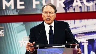 Wayne LaPierre Blames Socialism During School Shooting Speech
