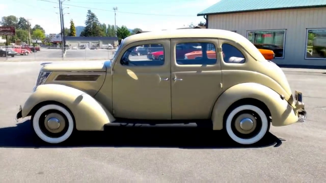 1937 ford slantback 4 door youtube