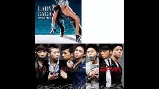 10. Poker Face Again & Again (2PM VS Lady Gaga)