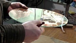 Как Вырезать Диск Из Стекла(Второе видео о самодельном шлифовально заточном станке. В этом видео показан метод изготовление стеклянно..., 2016-01-22T15:48:04.000Z)