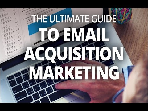 Email Acquisition Marketing Webinar