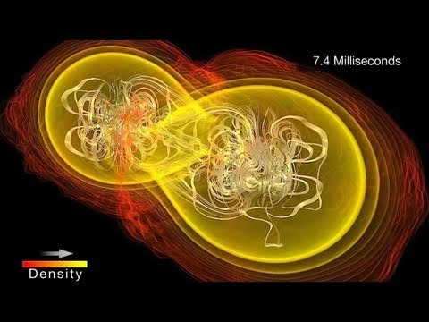 NASA | Colliding Neutron Stars Create Black Hole and Gamma-ray Burst