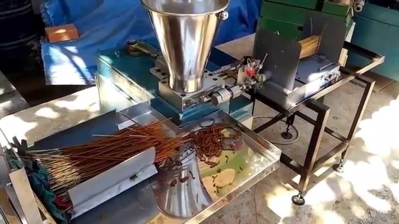 New Auto Incense Making Machine Fat 04 Vietnam Sticks Vs