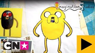 Comment dessiner Jake   Imagination Studios   Cartoon Network