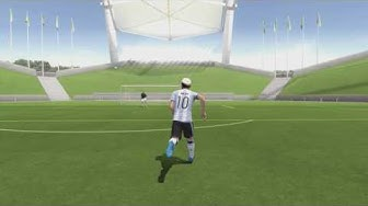 Fifa 17 Lionel Messi Tor in Argentinische Trikot