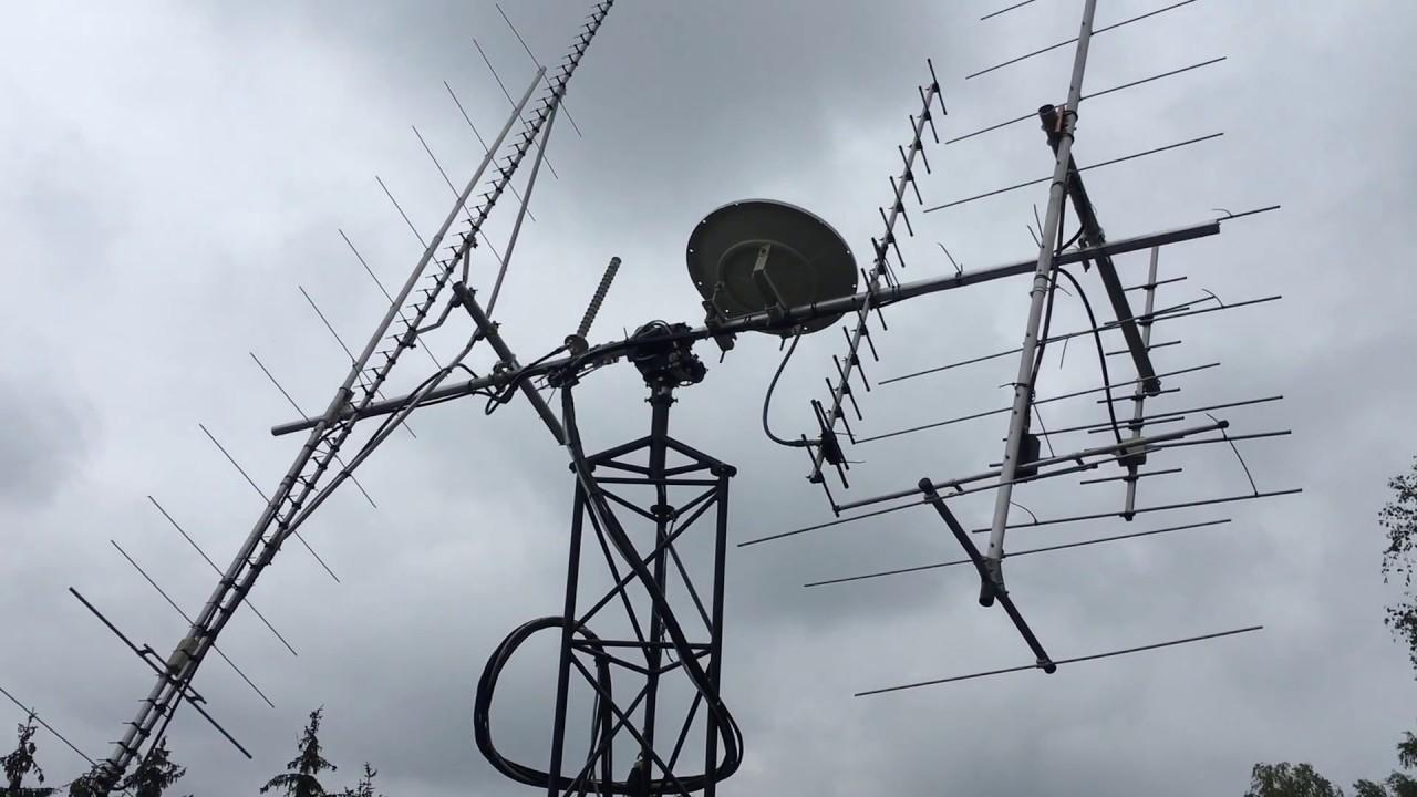 SQ5KTM testing new antennas tracking system 1/2