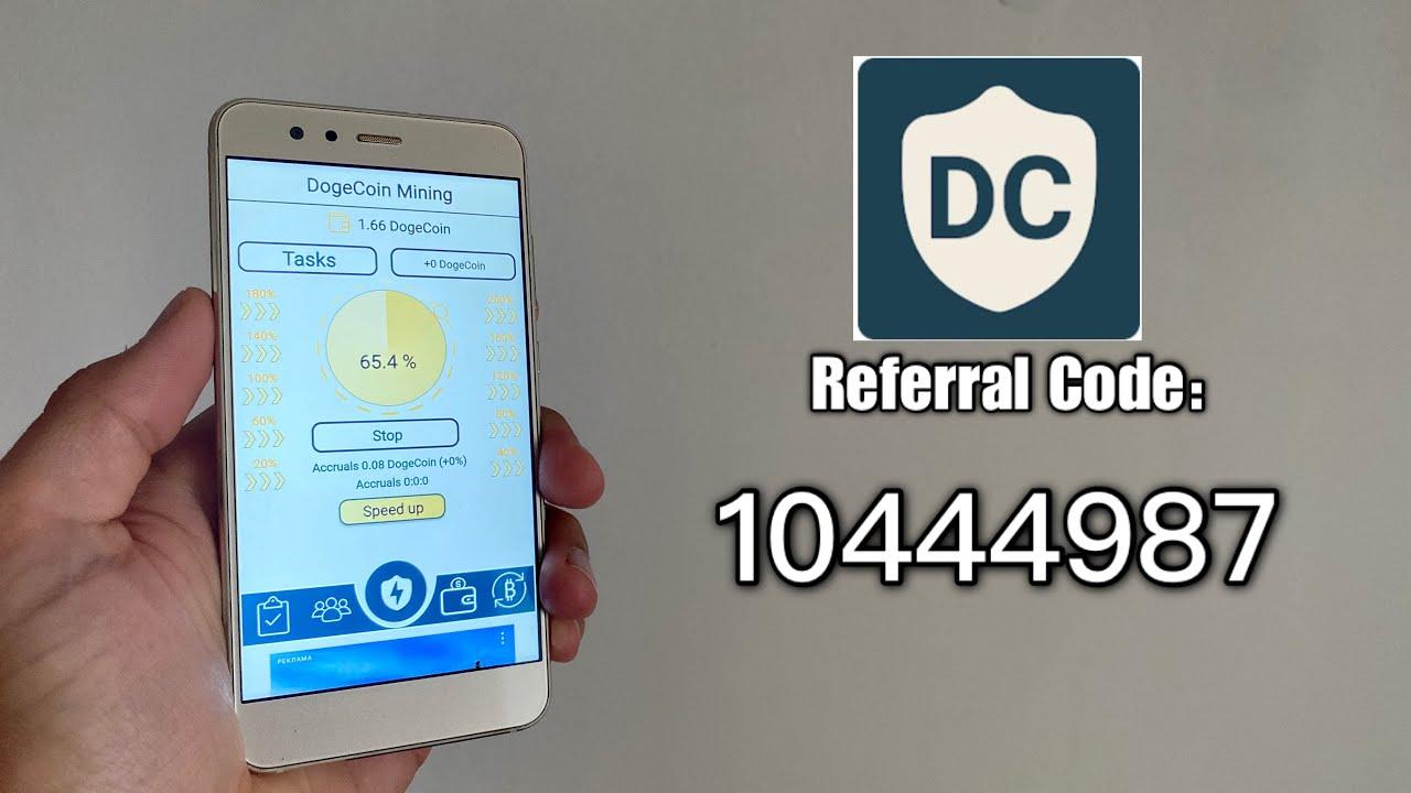 DogeCoin Mining Network, Referral Code & Installation