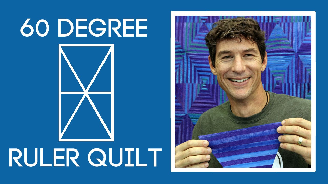 Rob's 60 Degree Ruler Quilt - YouTube : 60 degree ruler quilting - Adamdwight.com