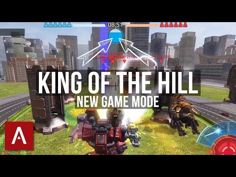 War Robots Test Server 3.5: KING OF THE HILL (game mode) with gameplay