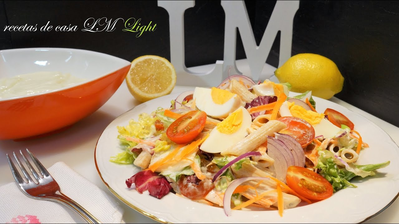 Recetas ensaladas de verano light