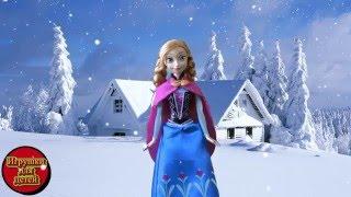 Видео для девочек, Играем в куклы Страшная история продолжение, Анна ищет Эльзу,  Барби в помощь