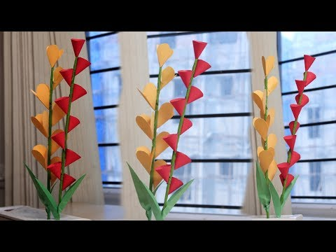diy easy paper flowers - Diy Paper Doll Hacks - Very Easy And Simple Paper Crafts
