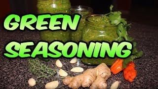 Juju's Recipes - Episode 2: Juju's Green Seasoning