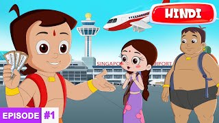 Chhota Bheem's Adventures in Singapore - The Journey Begins   Full Episode #1 in Hindi