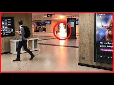 Attentat un individu avec une ceinture d'explosifs neutralisé à la gare centrale de Bruxelles