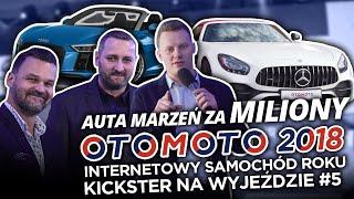 Auta marzeń za miliony $$$  - OTOMOTO ISR 2018 - Kickster na wyjeździe #12