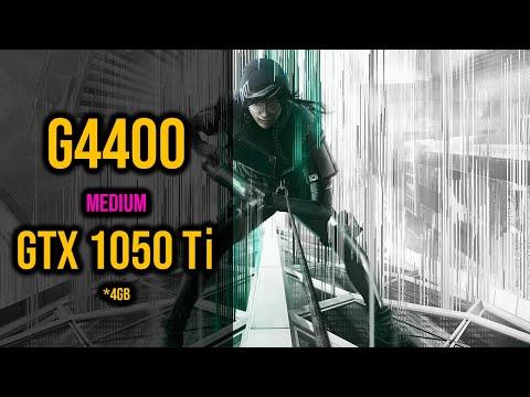 1050Ti-4GB + G4400