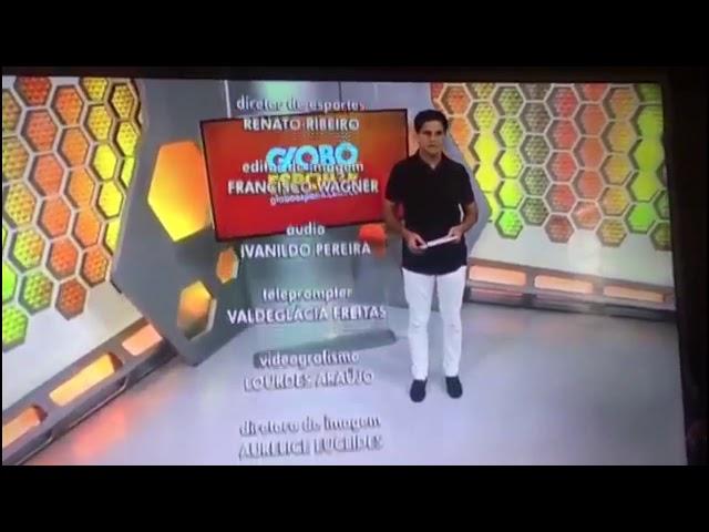 Vídeo Apresentador Do Globo Esporte Pede Demissão Ao Vivo