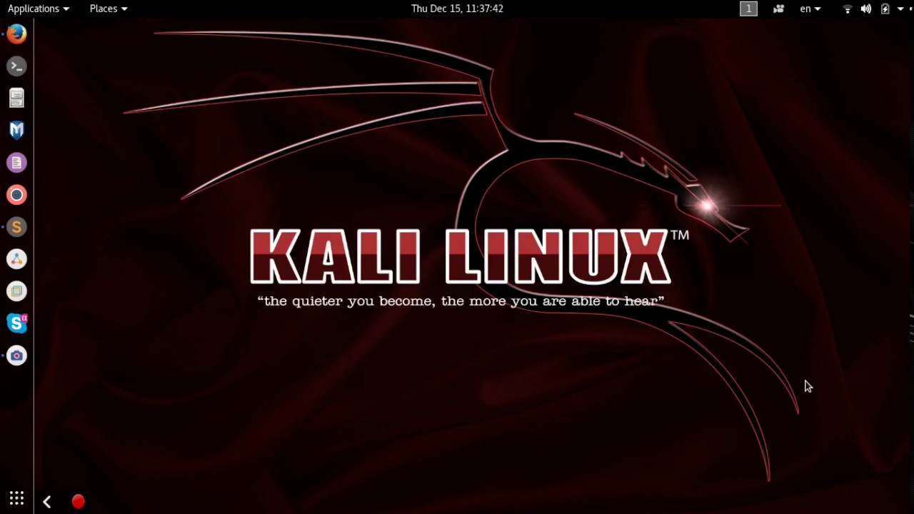Tạo phím tắt mở nhanh ứng dụng trên Kali – How to create custom shortcut on kali linux