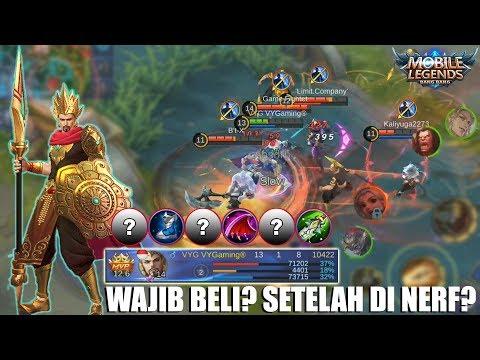 MINSITTHAR HERO BARU YANG SUDAH 2X NERF - APAKAH MASIH WAJIB DIBELI? MOBILE LEGENDS