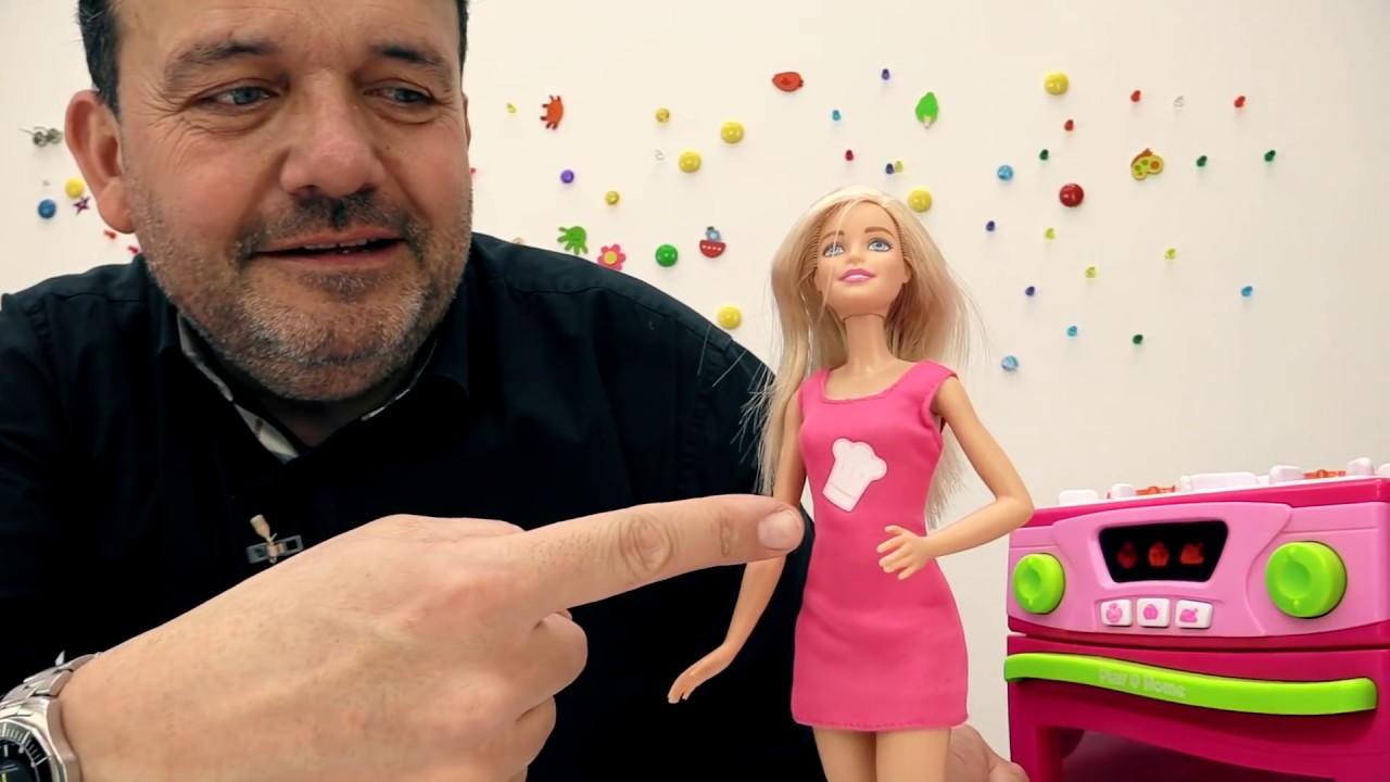 CocinaPlay Barbie PlastilinaJuguetes De Doh Juegos R4qjL3cA5