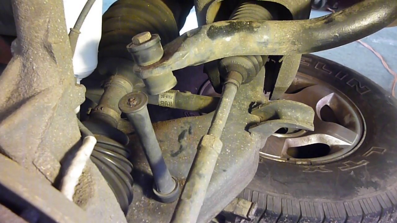 FORD EXPLORER SWAY BAR END LINK REPLACEMENT  YouTube