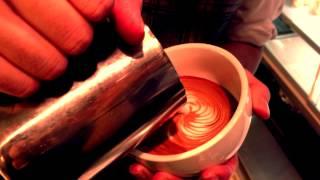 Latte art(Wing tulip)2012/11/1