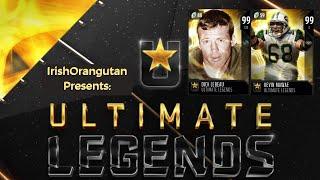 Dick LeBeau, Kevin Mawae, & Tedy Bruchsi in Ultimate Legends Recap in Madden 19 Ultimate Team!
